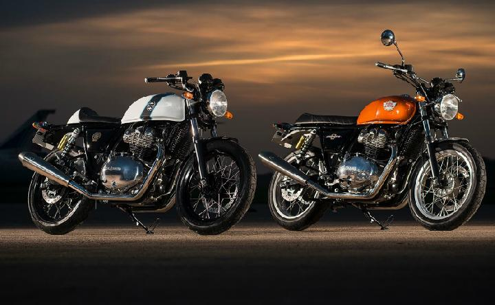 Royal Enfield 650 Twins model 2018. (auto ndtv)