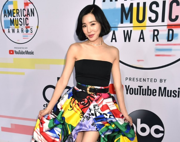 Tiffany Young, Kris Wu, dan NCT 127 Hadiri Red Carpet America Music Awards 2018