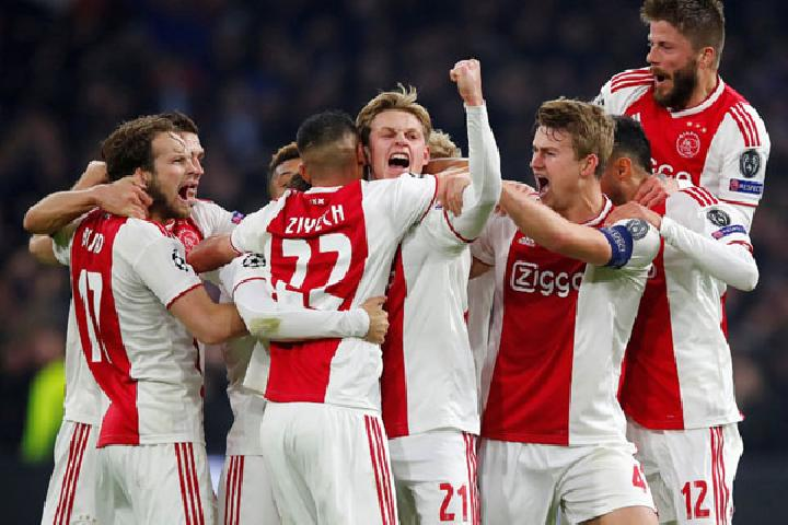 Ajax Amsterdam. Reuters