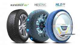Produsen ban premium global, Hankook Tire, dianugerahi tiga penghargaan dalam kategori Professional Concept and Product pada iF Design Award 2019. (Hankook)