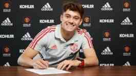 Daniel James. (skysports)