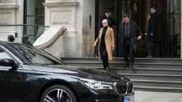 BMW Seri 7 dalam Film Red Sparrow. Dok: BMW