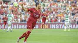 Pemain AS Roma, Henrikh Mkhitaryan. Reuters
