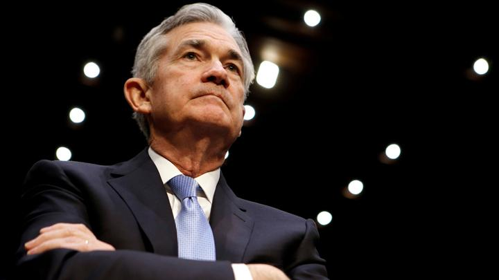 Jerome Powell. REUTERS/Joshua Roberts