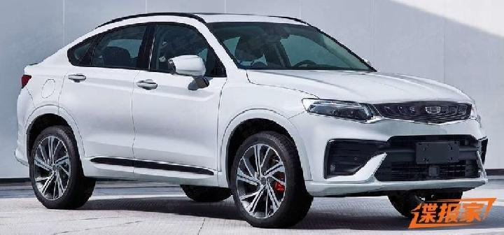 SUV Coupe Geely. Sumber: carscoops.com