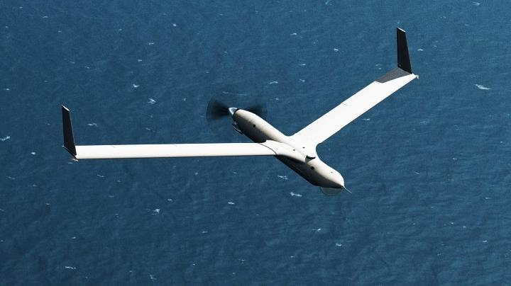 Drone ScanEagle buatan AS.