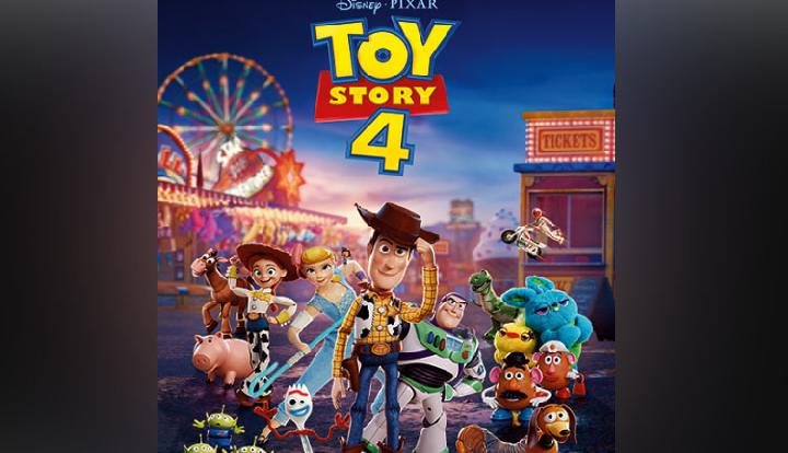 Poster film Toys Story 4.