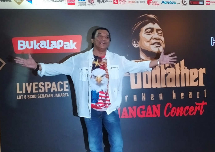 Didi Kempot dan Awal Mula Julukan The Godfather of Broken Heart