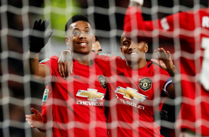 Manchester United. Reuters