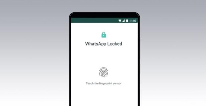 Fingerprint WhatsApp. Kredit: Thenextweb