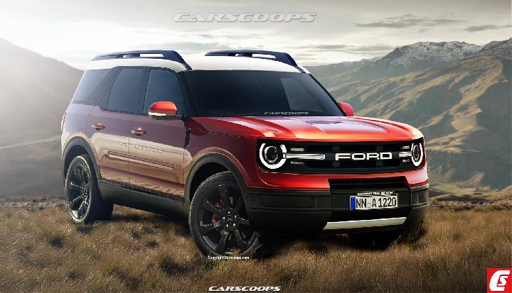 Render Ford Bronco 2021. Sumber: carscoops.com