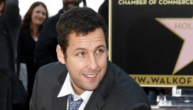 Adam Sandler. REUTERS/Jason Redmond
