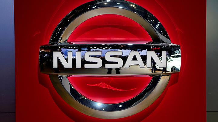 Logo Nissan. REUTERS/Aly Song