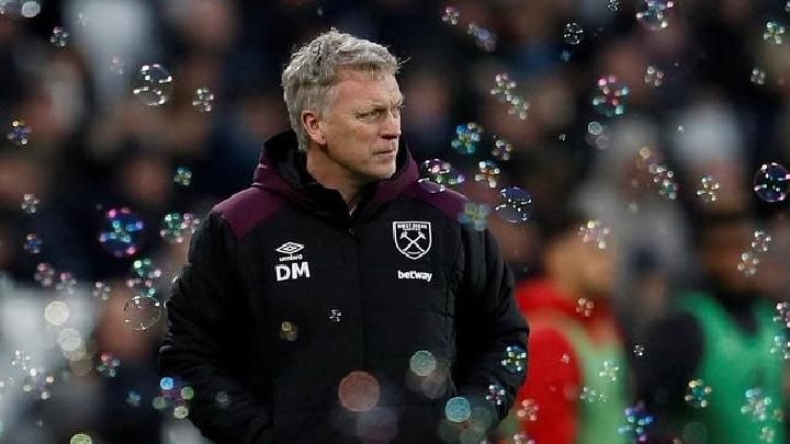 Manajer West Ham United, David Moyes. REUTERS