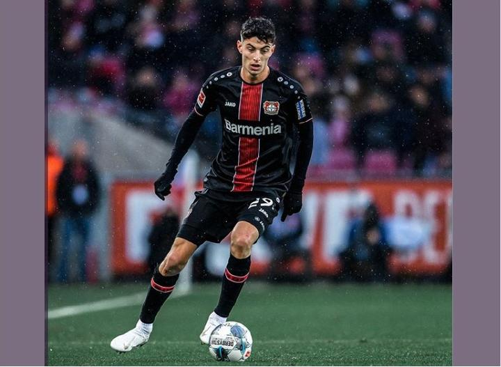 Kai Havertz. (instagram/@kaihavertz29)