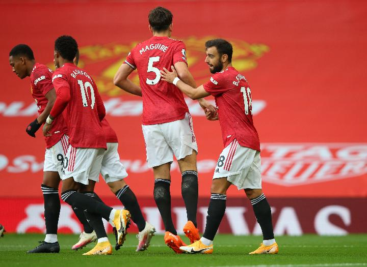 Manchester United. REUTERS/Alex Livesey