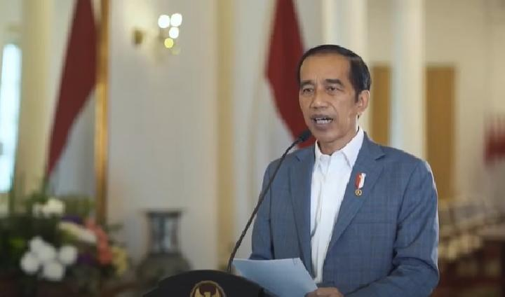 Presiden Jokowi membuka gelaran tahunan Google for Indonesia (Google4ID), Rabu, 18 November 2020. Kredit: Youtube/Google Indonesia