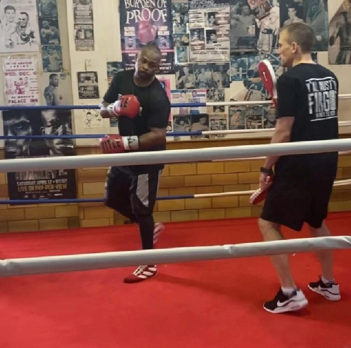 Roy Jones Jr is still showing 'incredible hand speed' aged 51. Credit. The Sun.