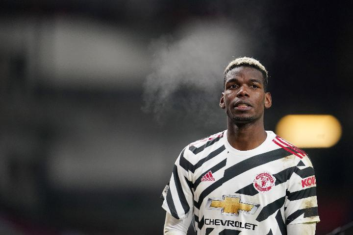 Pemain Manchester United Paul Pogba. REUTERS/Jon Super