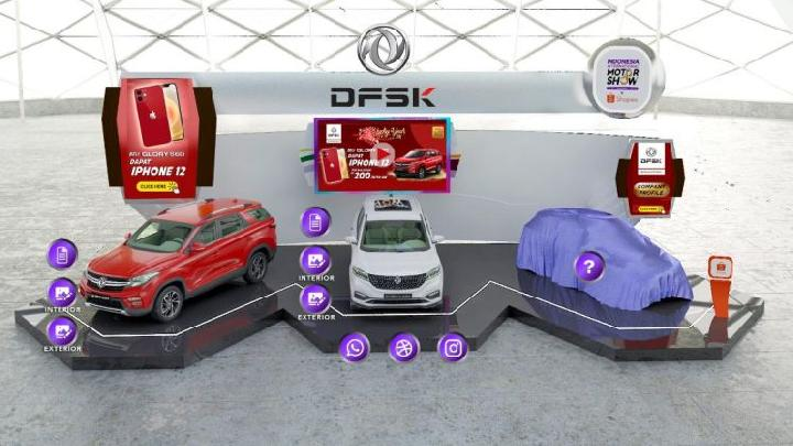 Booth DFSK di IIMS Virtual 2021. (DFSK)