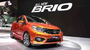 All New Honda Brio world premiere di GIIAS 2018. 2 Agustus 2018. TEMPO/Wawan Priyanto.