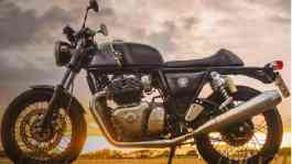 Royal Enfield Continental GT 650. Sumber: autocarindia.com