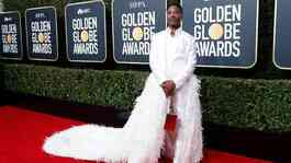 Billy Porter saat menghadiri Golden Globe Awards ke-77 di California, AS, 5 Januari 2020. REUTERS/Mario Anzuoni