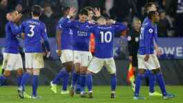 Leicester City. Reuters