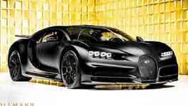 Bugatti Chiron Noire Limited Edition (Hollmann International)