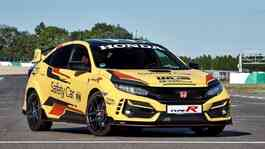 Honda Civic Type R Limited Edition menjadi safety car resmi balap mobil World Touring Car Cup 2020. (Honda)